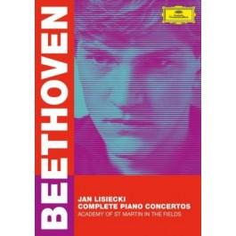 Jan Lisiecki Beethoven Complete Piano Concertos DVD