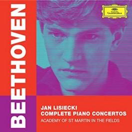Jan Lisiecki Beethoven Complete Piano Concertos BLU-RAY