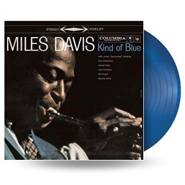 Miles Davis Kind Of Blue Blue Vinyl LP