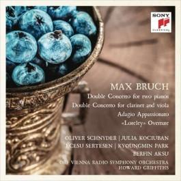 Oliver Schnyder Julia Kociuban Bruch Double Concerto For Two Piano CD