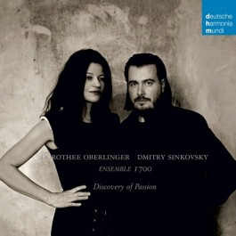 Dorothee Oberlinger Dmitry Sinkovsky Discovery Of Passion CD