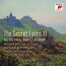 Katja Stuber Benjamin Appl Faure Secret Faure Iii - Secred Vocal Works CD