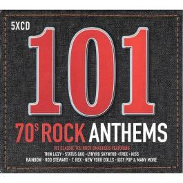 Various Artists 101 70S Rock Anthems CD5