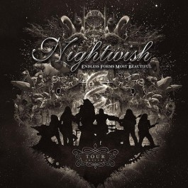 Nightwish Endless Forms Most Beautiful Limited Tour Edition CD+DVD