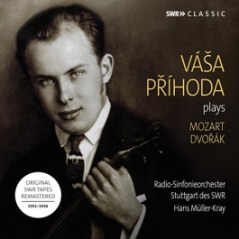 Vaša Prihoda Plays Mozart And Dvorak CD