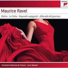 Lorin Maazel Orchestre National De France Ravel Bolero, La Valse, Rapsodie Espagnole CD