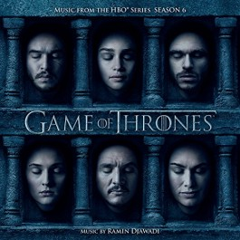 Soundtrack Game Of Thrones Season 6 Music By Ramin Djawadi CD