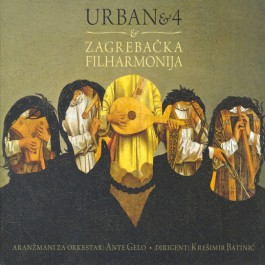 Urban & 4 Urban & 4 & Zagrebačka Filharmonija CD