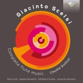 Claudia Giottoli Scelsi Complete Flute Music CD