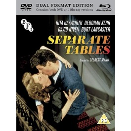 Delbert Mann Separate Tables Nema Hr Podnaslova BLU-RAY+DVD
