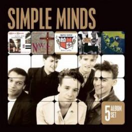 Simple Minds 5 Album Set CD5