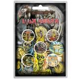 Iron Maiden Button Bagde 5 Komada BADGE