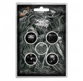 Darkthrone Button Badges 5 Komada BADGE