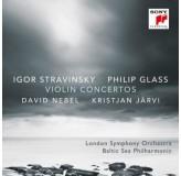 David Nebel Stravinsky, Glass Violin Concertos CD