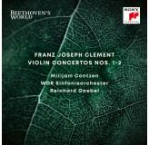 Mirijam Contzen Clement Violin Concertos Nos. 1-2 CD