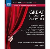 Royal Scottish National Orchestra Great Comedy Overtures Hi-Def Audio BLU-RAY