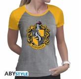 Majica Harry Potter Hufflepuff T-Shirt, Xl, Grey MAJICA