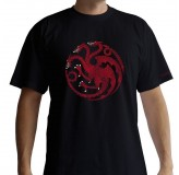 Majica Game Of Thrones Targaryen T-Shirt, Xl, Black T-Shirt MAJICA
