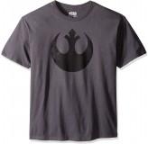Majica Star Wars I Rebel T-Shirt, Xxl, Dark Grey MAJICA
