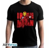 Majica Marvel Iron Man T-Shirt, Xl, Black MAJICA
