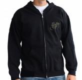 Majica Harry Potter Deathly Hollows Zip Hoodie, Xxl, Black MAJICA
