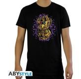 Majica Marvel Thanos Infinity Gautlet T-Shirt, Xl, Black MAJICA