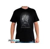 Majica Game Of Thrones Iron Throne T-Shirt, Xl, Black MAJICA