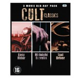 Movie Cult Classics Easy Rider, Taxi Driver, Midnight Express BLU-RAY3