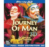 Cirque Du Soleil Journey Of Man 3D BLU-RAY